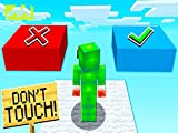 Clip: Don't Touch the Wrong Minecraft Block