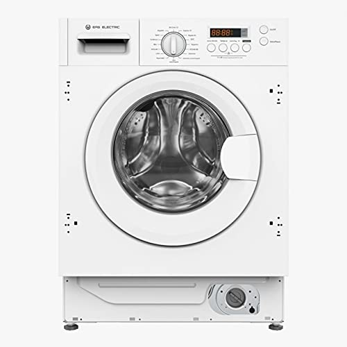 EAS ELECTRIC SMART TECHNOLOGY | EMWI82401 | Lavadora Integrable | Color Blanco/Integrable | Capacidad 8 kg | Clase energética | B/A+++ | Centrifugado hasta 1400 rpm | Display LED | Motor INVERTER