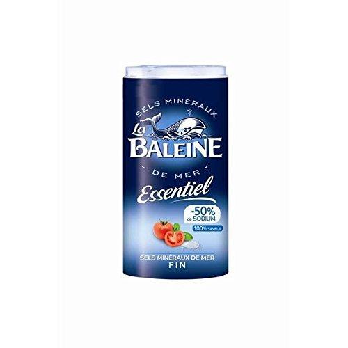 Die Karaffe Box Wal wesentlich feines Salz 350g - ( Einzelpreis ) - La baleine boite verseuse sel fin essentiel 350g