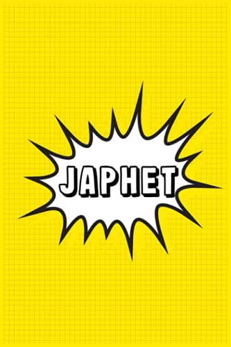 Japhet: Personalized Name Japhet Notebook, Gift for Japhet, Diary Gift Idea