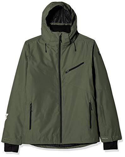 Brunotti Pander Mens Snowjacket Chaqueta, Beetle Green, xx-l