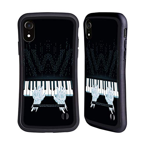 Head Case Designs Offizielle Westworld Piano Grafiken Hybride Handyhülle Hülle Huelle kompatibel mit Apple iPhone XR
