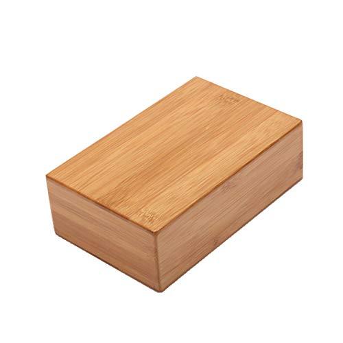 Chunhe bloque de yoga de bambú bloque de yoga de madera de bambú ladrillos de yoga de alta densidad