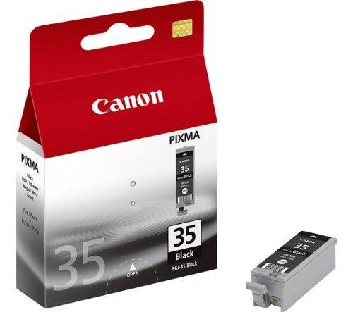 1x Original cartucho de tinta Canon PIXMA iP 100, 100Portable V, PGI35–Black