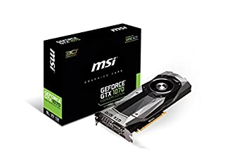 MSI GeForce GTX 1070 Founders Edition (GTX 1070 Founders Edition) (B01GO0I93O) | Amazon price tracker / tracking, Amazon price history charts, Amazon price watches, Amazon price drop alerts