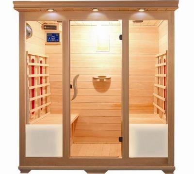 Bagno Italia Sauna a Infrarossi cm 175x135 con 4 sedute radio profumoterapia cromoterapia I