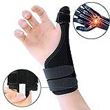 ZOUYUE Handgelenkschiene mit Daumenschiene, flexibel Daumenbandage Handgelenkbandage für...