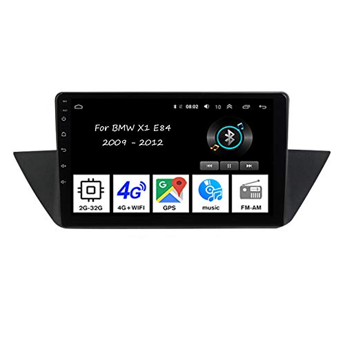 Android car stereo Car RadioTuner 9 Inch car radio with bluetooth and navigation and backup camera 4core 2G+32G For BMW X1 E84 2009-2012 car accessories touch screen radio