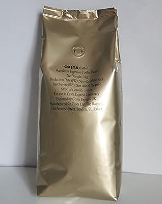 Costa Coffee beans Rainforest Espresso 1kg (1kg)
