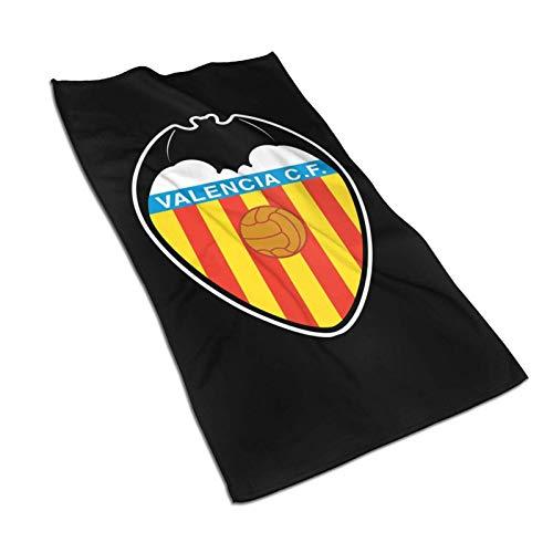 DJNGN Toallas de baño de 5 x 57 Pulgadas con el Logotipo de Valencia, Toalla de Ducha de Microfibra para el Cuerpo, Toalla súper Absorbente y Quickdry