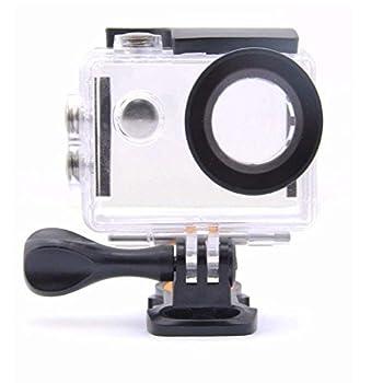 VVHOOY Action Camera Underwater Waterproof Housing Case Compatible with AKASO EK7000/APEMAN/REMALI CaptureCam/Yolansin/Gnolkee/HLS/Vemont/Apexcam/Jadfezy/Victure ac920 Action Camera