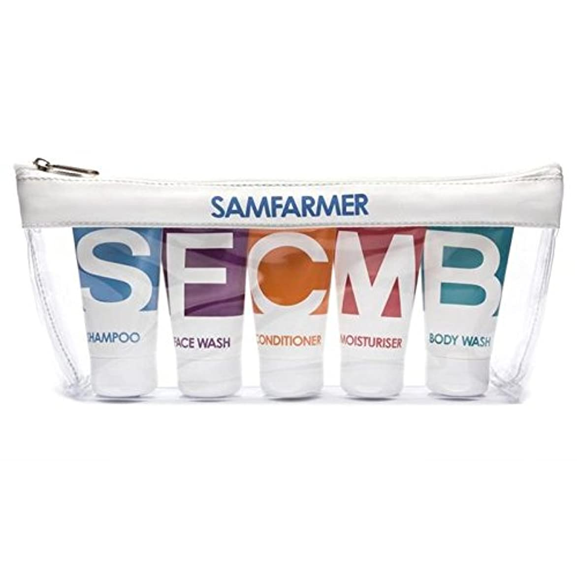 怪物二年生柔らかいユニセックスの旅行パック x2 - SAMFARMER Unisex Travel Pack (Pack of 2) [並行輸入品]