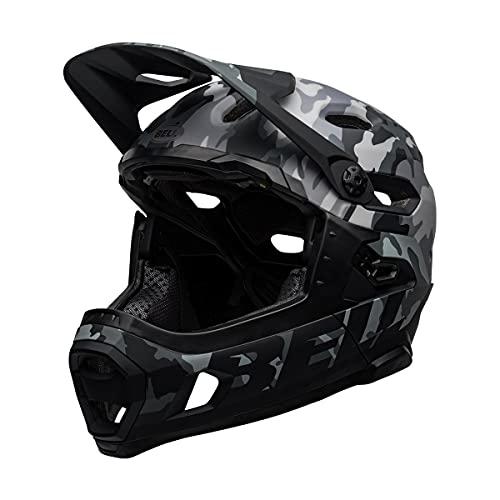 BELL Super DH, Casco Unisex, Matte/Gloss Black Camo, L | 58-62cm