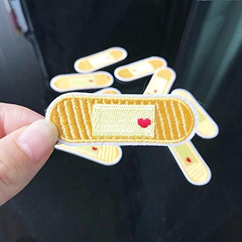 EMOHKCEB Bandage Borduurwerk Reparatie Patches Tas Jas Jeans Cartoon Iron Patches voor Kleding Goedkope Droge Lijm Sticker, Type B