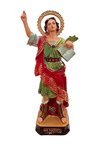 San Jorge - San Pancracio Resina 15cm. Patrono de la Salud y el Trabajo