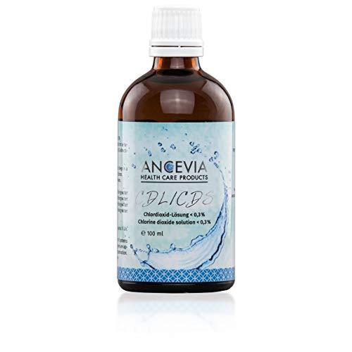 ANCEVIA® - dioxido de cloro 0.3% (100 ml) - CDS - CDL – Botella de vidrio marrón – Hecha en Alemania