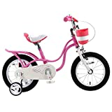 Zhaoyun Kinderfahrrad, Premium-Sicherheit Sport Kinder-Fahrrad mit Seitenständer und Zubehör for...