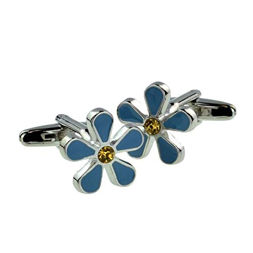 Ashton and Finch Masonic Freemasons Forget Me Not Cufflinks