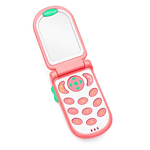 Pink toy phone