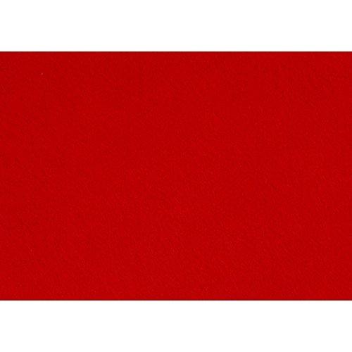 Creativ Company Artisanat feutre, 21x30 cm, rouge, 10 feuilles