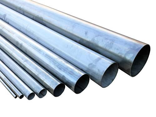 Edelstahlrohr geschweißt DIN EN 10217-7 Länge 1000mm