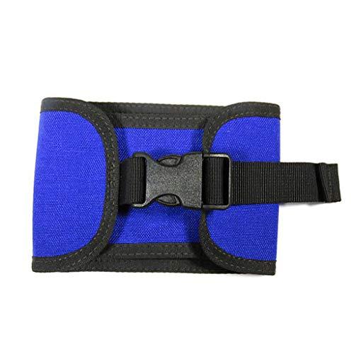 Tanmo Tauchgewicht 2 kg BCD Tauchgewicht Tasche Universal passend für Tank 5,1 cm Cam Band