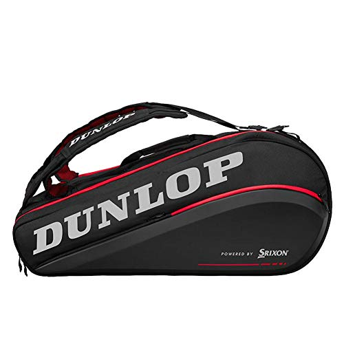 DUNLOP Cx Performance 9 Rkt Thermo Blk/Red Raquetero Negro -...