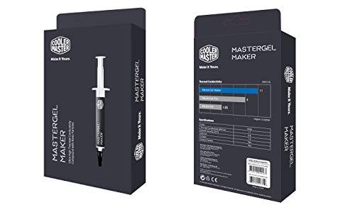 Cooler Master MasterGel Maker Wärmeleitpaste 'Ultra-Hohe Wärmeleitfähigkeit , Nano Diamond Partikel, 4ml' MGZ-NDSG-N15M-R1
