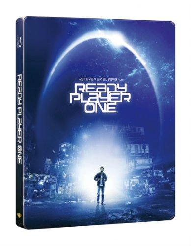 【ゲオ限定】『レディ・プレイヤー1』ブルーレイ スチールブック(R)仕様【2000セット限定】 [Blu-ray]