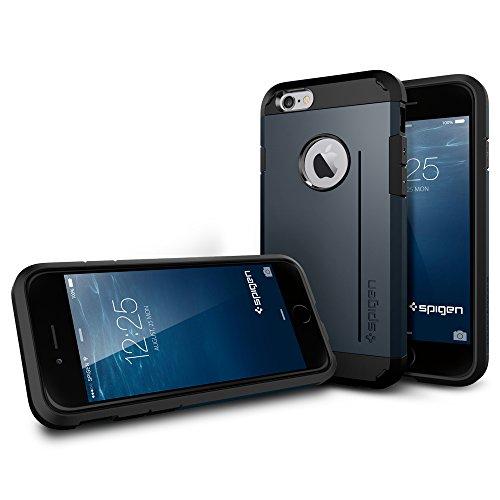 『【Spigen】 iPhone6 ケース, [ 米軍MIL規格取得 衝撃 吸収 パターン 加工 ] タフ・アーマー アイフォン 6 用 耐衝撃 カバー』の6枚目の画像