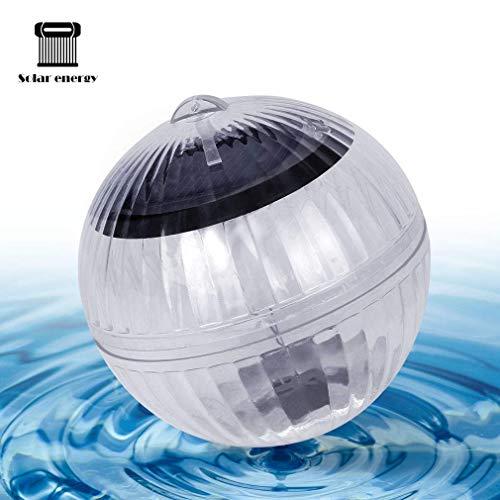 LED Solarlichter Solar Floating LED beleuchtet wasserdichte Balllampe, dekorative Regenbogen-Blitzlichter, RGB Lampe für Garten Schwimmbad Pool Teich Brunnen