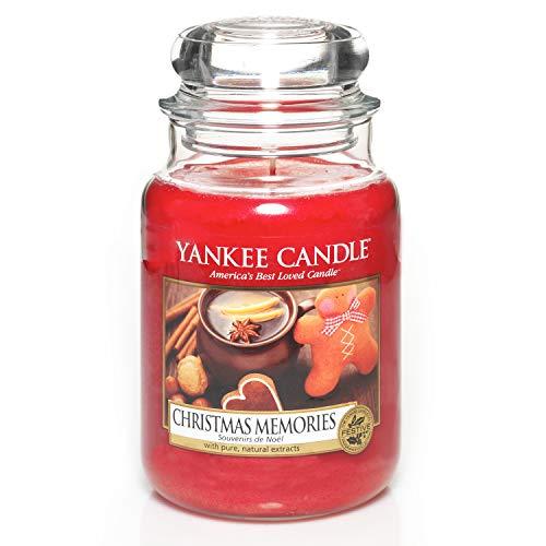 Yankee Candle Glaskerze, groß, Christmas Memories