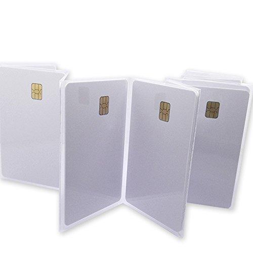 fongwah Blank IC kaart met contact chip 4442 20x,bank kaart standaard grootte