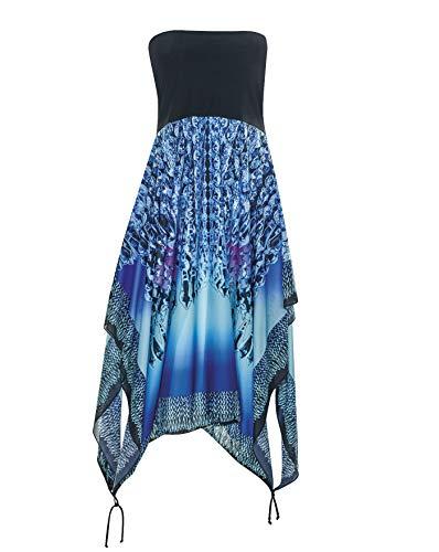 Sunflair Strandkleid Multistyle Rock blau 40