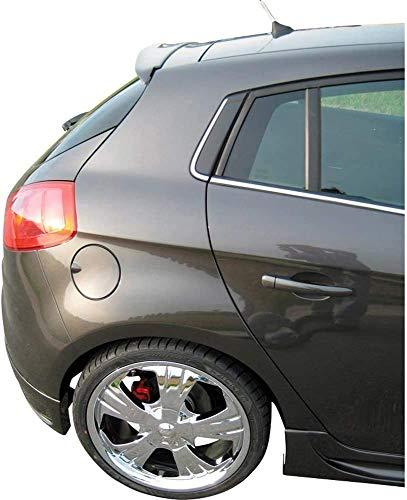 Alerón Trasero Spoiler de ABS para Fiat Bravo II 2007-2020, Accesorios de Modificación del Alerón del Maletero, Duradero, Brillante
