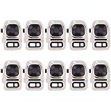 Generic 10 PCS Rear Camera Lens Cover + Flashlight Bracker for Galaxy S7 / G930(Gold)