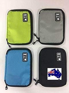 Cable Organiser Pouch Bag Storage Aust Stock (Single or Bundles) (2 Piece)