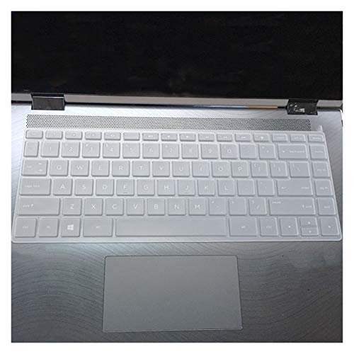 Soft Skin Protector, 13.3 inch Laptop Keyboard Cover Protector for HP ENVY x360-13-ag0002la 13-ag0001la 13-ag0000au 13-ag0000au 13-ag Notebook skin Waterproof Dust-Proof (Color : Clear)