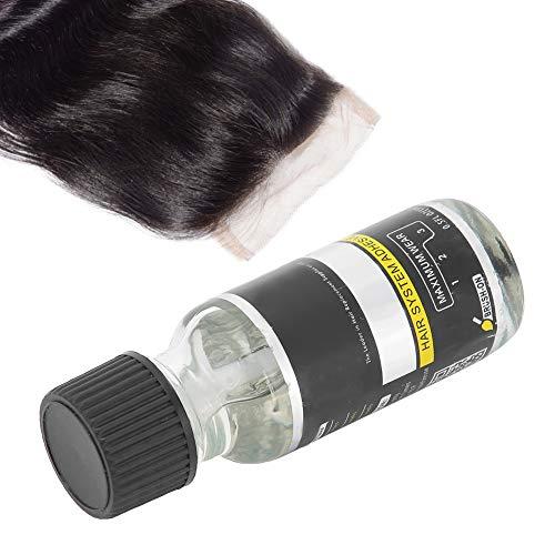AdhéSif de Remplacement de Cheveux de Colle de Perruque de Dentelle, AdhéSif de Colle D'Extension de Cheveux pour le Postiche, Colle de Liaison Invisible, Outils de Coiffure de Tissage