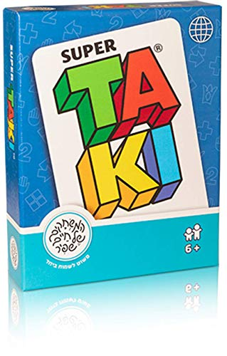Super Taki Playing Cards Game For Adults and Kids