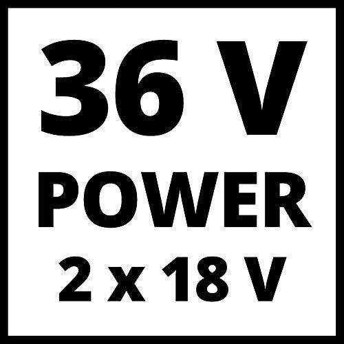 Einhell Akku-Zug-Kapp-Gehrungssäge TE-SM 36/210 Li-Solo Power X-Change (Li-Ion, 36 V, leichtgängige Zugfunktion, Schnittlinien-Laser, ohne Akku und Ladegerät) - 15