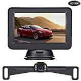LeeKooLuu HD 720P Backup Camera and Monitor Kit OEM,Hitch Camera for...