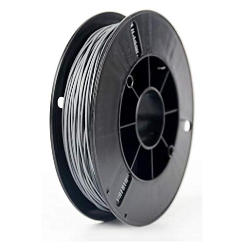 3D printer filament 1.75mm, PLA metal filament 1kg, adding metal powder, with metallic texture-Stainless steel
