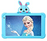 Kids Tablet Android Tablet for Kids 7 inch WiFi Toddler Tablet 32GB Quad Core Kids Tablets Support Bluetooth Camera Support Netflix YouTube Parental Control 4000mAh Boys Girls (Blue)