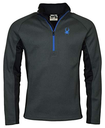 Spyder Men's Half-Zip Outbound Sweater Jacket - M - Gray