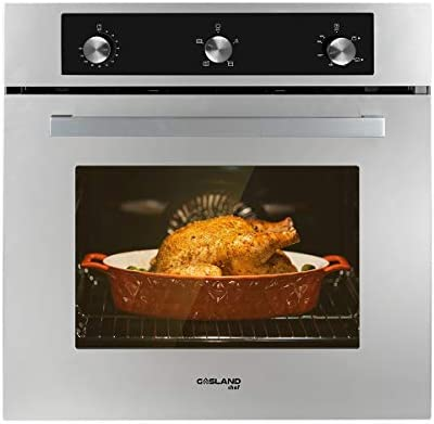 Single Wall Oven GASLAND Chef GS606MS 24 Built in Natural Gas Oven 6 Cooking Function Convection product image