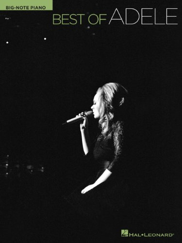 Best of Adele (Big-note Piano) (English Edition)