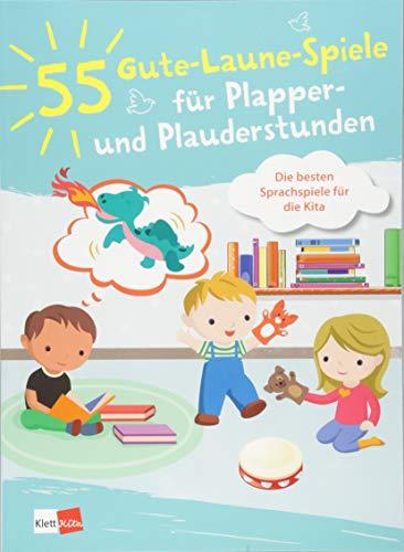 55 Gute-Laune-Spiele für Plapper- und Plauderstunden: Die besten Sprachspiele für die Kita