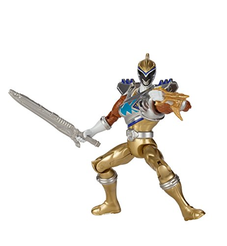 Power Rangers Dino Super Charge - 5 Dino Drive Gold Ranger Action Figure