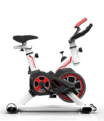 MCLJR Indoor Cycling Heimtrainer, Training Stationäres Fahrrad Fitness Adjustable Heim, Für Mann Oder Frau